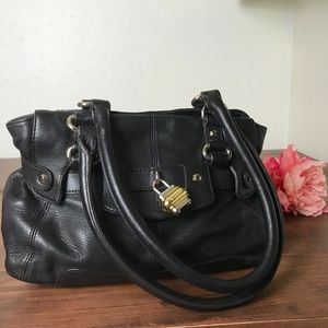 B. Makowsky small black handbag